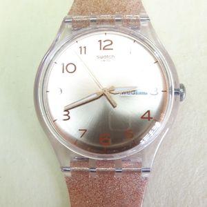 Swatch Rose Gold Watch